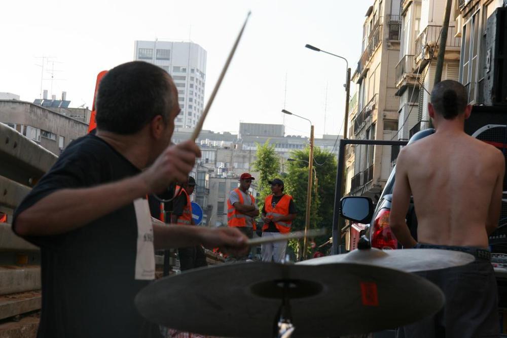 Balata's Sound Bombing tactics